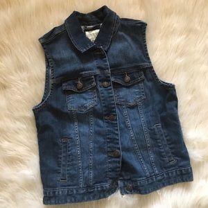 NWOT Forever 21 Premium Denim Jean Vest